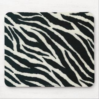 RAB Rockabilly Zebra Print Black & White Mouse Pad