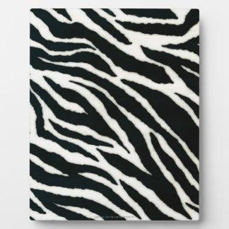 RAB Rockabilly Zebra Print Black & White Photo Plaque