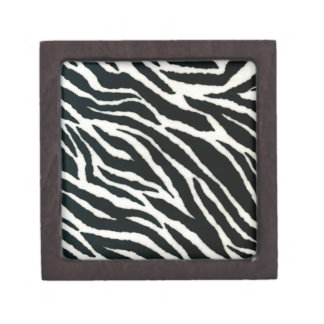 RAB Rockabilly Zebra Print Black & White Premium Gift Boxes