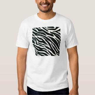 RAB Rockabilly Zebra Print Black & White Tshirt