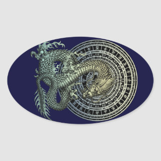 Raban ryuu 2 oval sticker