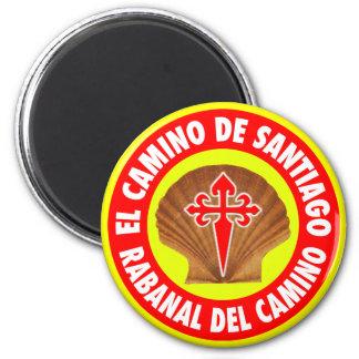 Rabanal Del Camino Magnet