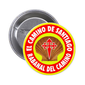 Rabanal Del Camino Pinback Button