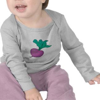 rábano púrpura camisetas