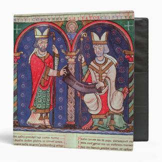 Rabanus Maurus offering his Book Binder