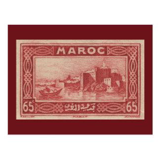 Rabat Marruecos - postal