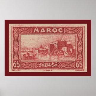 Rabat, Morocco - Poster