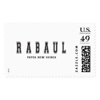 Rabaul Papua New Guinea Postage