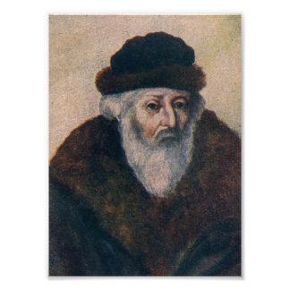Rabbi Akiva Eiger Photo Print
