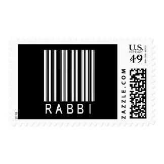 Rabbi Bar Code Postage