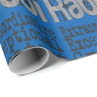 Rabbi Extraordinaire Wrapping Paper