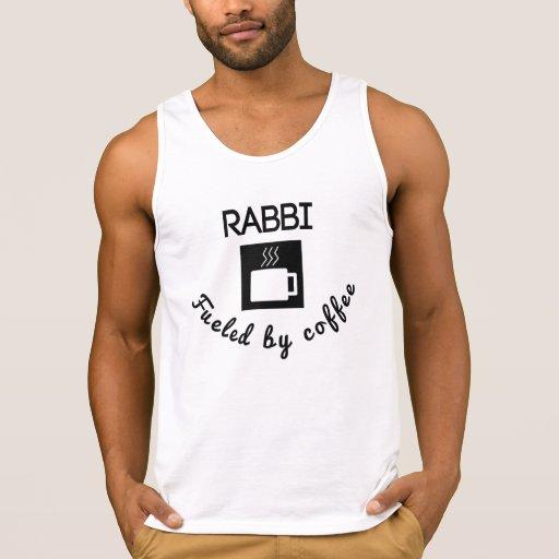 Rabbi Fueled By Coffee Tank Tank Tops, Tanktops Shirts