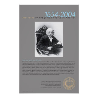 Rabbi Isaac Mayer Wise (1819-1900 Poster