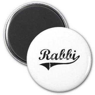 Rabbi Professional Job Fridge Magnet