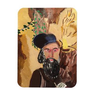 Rabbi Shimon Bar Yochai Kabbalah Rectangular Photo Magnet
