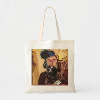 Rabbi Shimon Bar Yochai Kabbalah Tote Bag