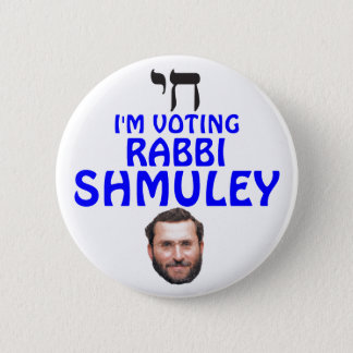 Rabbi Shmuley Boteach for Congress Button
