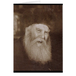 Rabbi Yosef Yitzchak Schneersohn Card