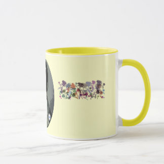 Rabbie Burns Scottish Thistle Art Mug