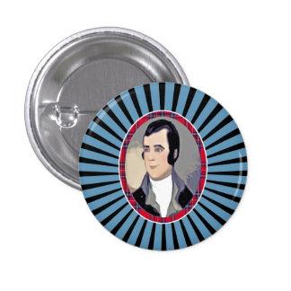 Rabbie Burns Tartan Pinback Pinback Buttons