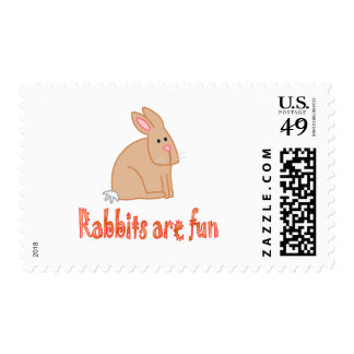 Rabbis are Fun Postage Stamps