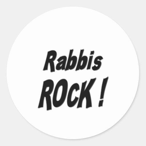 Rabbis Rock! Sticker