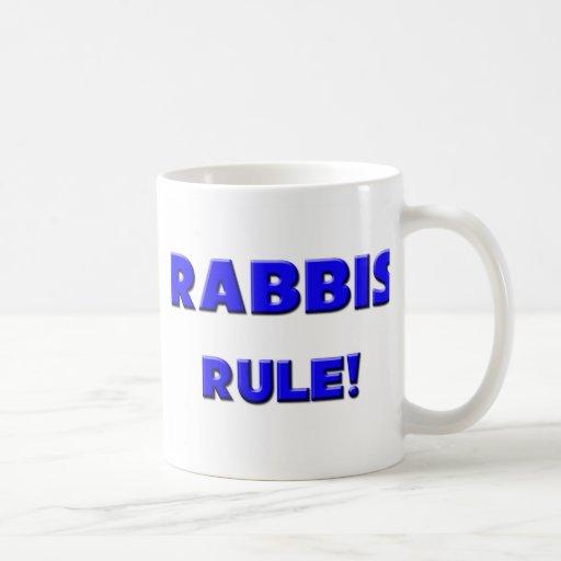 Rabbis Rule! Classic White Coffee Mug