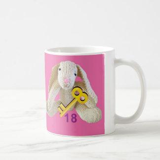 Rabbit 18 birthday mug present daughter etc