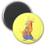Rabbit 1 2 inch round magnet
