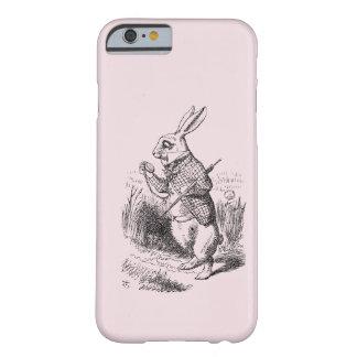 Rabbit_Alice blanco en caso del iPhone 6 del país Funda Para iPhone 6 Barely There
