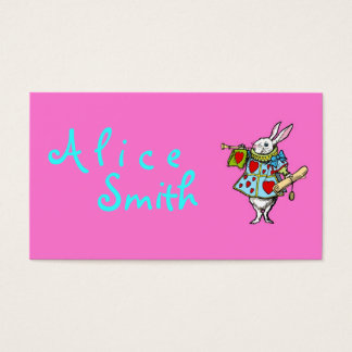 Rabbit Alice in Wonderland ~ Business Cards