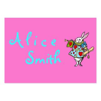 Rabbit Alice in Wonderland ~ Business Cards