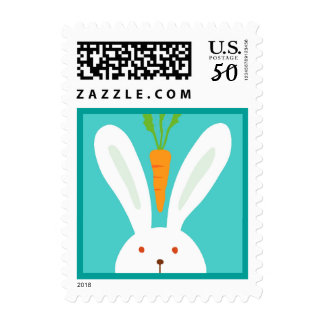 Rabbit and Carrot Postage
