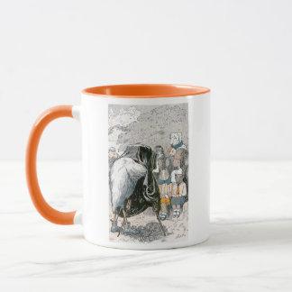 Rabbit and Chipmunks Pose for Portrait Mug