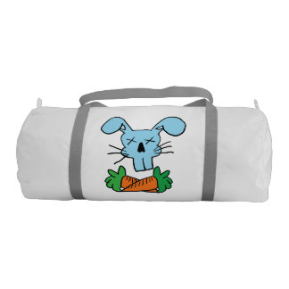Rabbit and Cross Carrots Duffle Bag