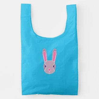 rabbit and fox.. reusable bag