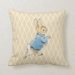 Rabbit and Friends Throw Pillow