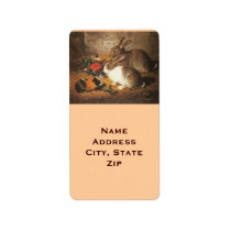 Rabbit and Guinea Pig Label