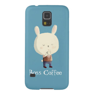 Rabbit and Morning Coffee Galaxy S5 Case