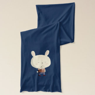 Rabbit and Morning Coffee Scarf