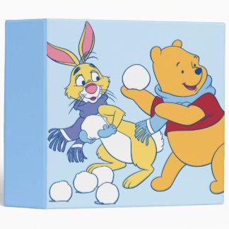 Rabbit and Pooh Binder