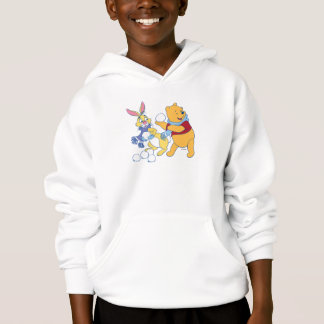 Rabbit and Pooh Hoodie