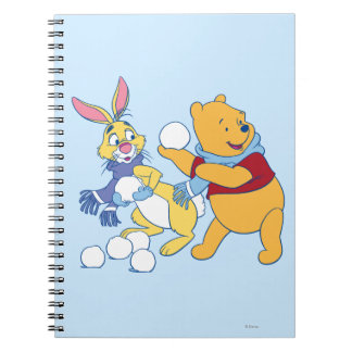 Rabbit and Pooh Notebook