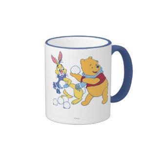Rabbit and Pooh Ringer Mug