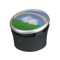 Rabbit and Rainbow Bluetooth Speaker