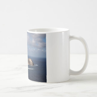 Rabbit and Rock Island Coffee Mug