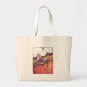 Rabbit and Squirrel Have Lunch bag