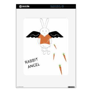 Rabbit Angel Decal For iPad