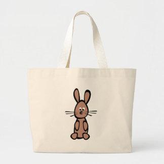 rabbit canvas bag