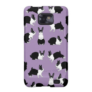 Rabbit black and knows samsung galaxy s2 case